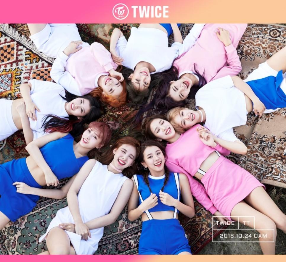 当時 Twice デビュー